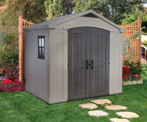 Keter 8 x 6 Factor Shed