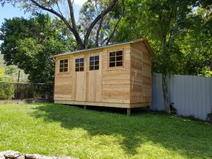 Plastic Sheds - Timber Sheds